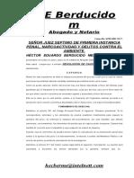 67 Defensa Solicita Devolucion de Caucion Economica Agosto 31 06