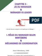 Role du manager