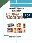 Restaurante.rincón Chapaco.emprendimiento e Innovación