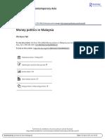 Money Politics in Malaysia