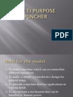 Multi Purpose Puncher