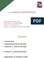 Numerical Integration_Misal Gandhi