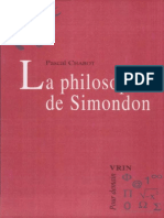 La Philosophie de Simondon