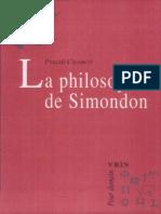 La Philosophie de Simondon