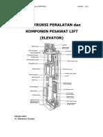 01 Jilid 1 Buku 1 Konstruksi Peralatan dan Komponen Pesawat Lift (Elevator)