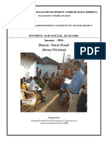 Poverty and Social Analysis_Road JHURAI - SARAI