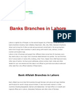 Bank Lahore