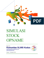 Manual Simulasi Stock Take Intarisasi SLiMS 7 Cendana Stock Opname Perpustakaan