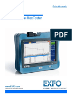 User Guide MaxTester Series Spanish