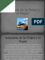 Industria de La Pulpa y El Papel
