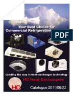 HC Catalog. Evaporators and Condensers
