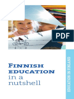 Finnish Education in a Nuttshell