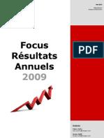 Focus Resultats 2009