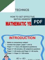 Teknik Menjawab Tahun 4(Fasa 1)
