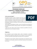 Fedexpor - Programa Logística y Cadena de Suministros