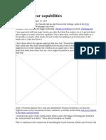 Iran War-IAE Assessment