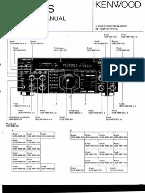 Service Manual: 1995-8 Printed In Japan 851-8296-00( N ) 1360