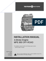 MPE 850 NA Installation Manual