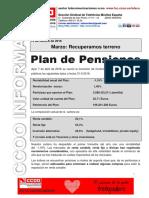 2016 04 08 Plan de Pensiones Marzo2015