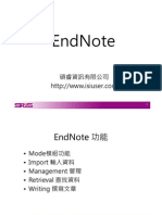 End Note X3