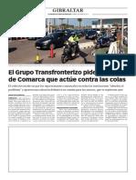 160408 La Verdad CG- El Grupo Transfronterizo Pide a La Junta de Comarca Que Actúe Contra Las Colas p.8