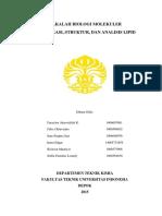 Klasifikasi, Struktur, Dan Analisis Lipid