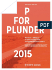 P for Plunder - 2015