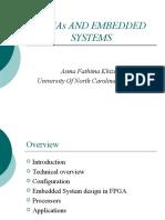 Embedded FPGA