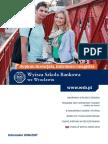 Informator 2016 - studia I stopnia - Wyższa Szkoła Bankowa we Wrocławiu.pdf