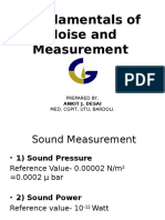 Fundamentals of Sound Measurement-1