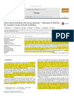 Agent based modelling and energy planning