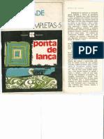Oswald de Andrade - Ponta de Lança