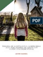 Act Para Padres de Niños Con Conductas Disruptivas