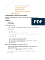 A6-Different Approaches to Corporate Governance