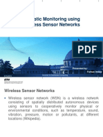 PPT-Acoustic Monitoring UsingWireless Sensor Etworks