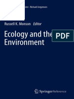Ecology and the Environment - The Plant Sciences