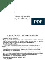 ICSS Function Test Presentation