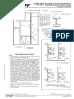 Metal Stud Framing - Drywall