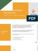PDL Capacitacion IIS 2013