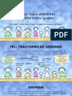 Presentación Taller TEA-TEL (Apoderados)