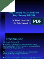 Penyakit Jantung Tiroid,Penyakit Jantung Rematik, Dan Penyakit Jantung Anemi (PD)