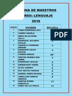 Nómina Maestros Curso Lengua Final-1