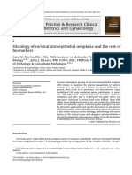 Histology of Cervical Intraepithelial Neoplasia and the Role of Biomarkers