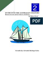 Adventism Beginning in Australia