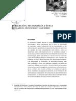 Educación, Tecnologia y Etica