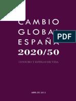 CAMBIO GLOBAL ESPAÑA