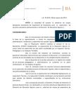 Disp. Nº 158-16 Inspector Contable Agraria