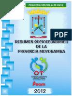 Aspecto socioeconomico Moyobamba