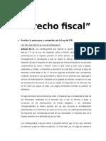 Derecho Fiscal - Impuesto al Valor Agregado