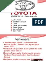 Slide Toyota - Tugas Presentasi Kelompok MM